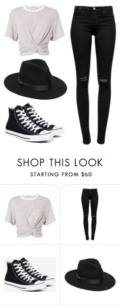 """""""Say you won't let go."""" by lieneofficial on Polyvore featuring T By Alexander Wang, J Brand, Converse and Lack of Color"""