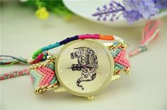 Hot Sell New Brand Handmade Braided Elephant Friendship Bracelet Watch Geneva Watches Women Quarzt Watches Relogio Feminino A3 Trendy Watches Affordable Watches From Shseller, $60.34| Dhgate.Com