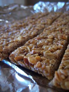Sweet and Salty Granola Bars                                                                                                                                                                                 Más