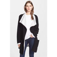 22115e9904 autumn cashmere Double Face Knit Coat Cashmere Coat