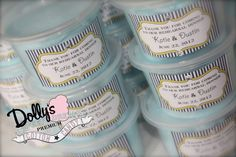 Sweet & Unique Rehearsal Dinner Treats! www.dollyscottoncandy.com