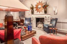 by James Rixner Luxury Decor, Luxury Interior, Interior Design, Nyc Holidays, Crystal Chandelier Lighting, London Design Festival, Luxury Homes, Relax, House Design