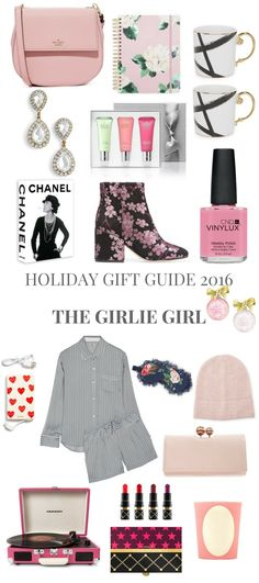 HOLIDAY GIFT GUIDE 2016 THE GIRLIE GIRL // Shoegal Out In The World