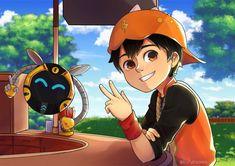 Boboiboy Anime, Hot Anime Boy, Anime Art, Anime Galaxy, Boboiboy Galaxy, Doraemon Wallpapers, Youtube Logo, Tsundere, 3d Animation