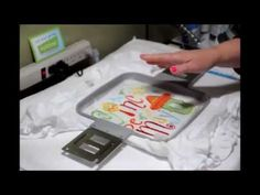 Machine Embroidery Basics. Preventing puckers, stabilizing and hooping. - YouTube