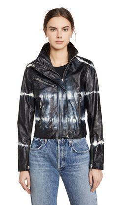 BLANK DENIM BLISS FIELD MOTO JACKET. #blankdenim #cloth Fast Fashion, Denim Fashion, Moto Jacket, Leather Jacket, Blank Denim, Moto Style, China Fashion, Cool Kids, Tie Dye
