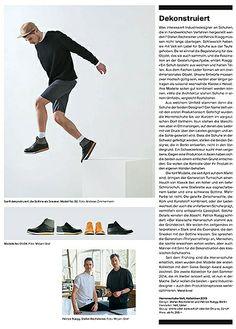 V E L T | Herrenschuhe zwischen Klassik und Sportswear Produziert in Veltheim AG, Schweiz