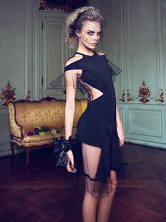 Cara Delevingne for Vogue Turkey April 2012