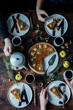 "freshbrewedlife: ""Quince Caramel Christmas Tart {GF} 