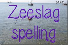 Spellingswoorden oefenen in spelvorm; Zeeslag spelling.