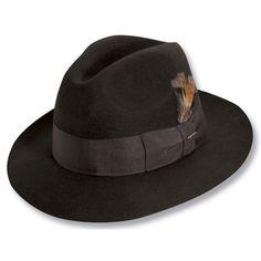 98c28997bbe1f Scala Alberto - Wool Felt Fedora Hat  48.00