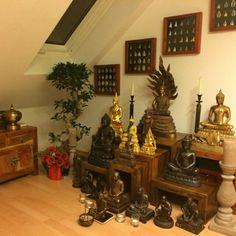 Gebetsecke und Altar