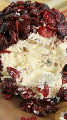 Cranberry Pecan and White Cheddar Cheese Ball Recipe