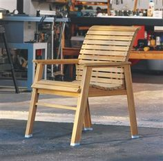 With a set of outdoor chairs like this on your patio or deck, you and your guests can enjoy the open air in comfort and style.