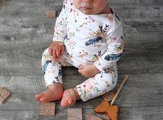 Baby girl romper baby girl clothes organic romper organic