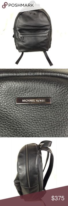 NWT Michael Kors Stephen Black Leather Backpack Brand new with tag. Large smooth black leather backpack with adjustable straps and zipper closure. One small front zip pocket. Lined interior with zip pocket. Sleek unisex design- great for women or men. Feel free to ask questions. No dust bag. Feel free to ask questions. Bundle 2 or more items to get discount 😊 Offers welcome through the offer button 🌸👍🏻 Trade value higher ($500) Michael Kors Bags Backpacks