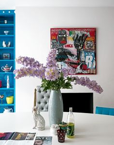 Bold, bright and beautiful - use colour in interesting ways to create a show-stopping room