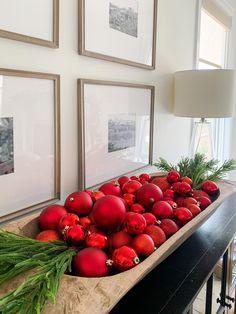 Red Christmas Lights, Red Christmas Ornaments, Christmas Love, Winter Christmas, Vintage Christmas, Christmas Topper, Winter Holidays, Christmas Wonderland, Dough Bowl