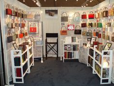 Portable Display Racks Craft Shows | ... Art & Craft Show | Rebound Designs at the American Craft Council Show