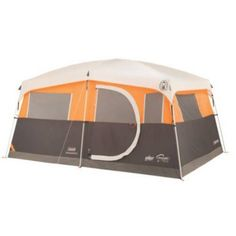 Cabin Tent 8Person Coleman with Fast Pitch System Featuring BuiltIn Closet with Shelves and a Hanger  sc 1 st  Pinterest & Coleman Hampton 6 Person Tent - http://camperkiosk.com/coleman ...