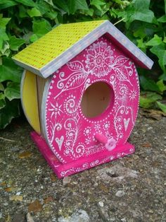 Decorative birdhouses £16.00