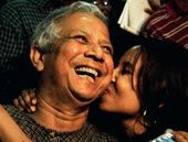 Muhammad Yunus, creator of the Grameen Bank, which has enabled and inspired millions to break out of poverty.