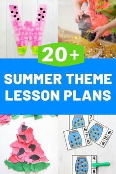 Life Over C's shares lesson plans for preschool. Your kids are going to love these easy and fun Summer Lesson Plans for Preschool! Kick off the summer right with activities that are both educational and entertaining. Lesson Plans For Toddlers, Preschool Lesson Plans, Summer Preschool Activities, Interactive Activities, Work Activities, Summer Lesson, Business For Kids, The Help, How To Plan