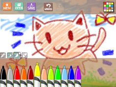 Hello Crayons - Free drawing app for kids