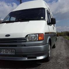 Hi, I just bought a classic camper van – 1986 Ford Transit Nugget Westfalia. It's got a hard top, mostly original interior (carpets and upholstery has been recently replaced by previous owner). Ford Transit Camper, Classic Campers, The Body Shop, Camper Van, Vans, Top, Aliner Campers, Van, Crop Tee