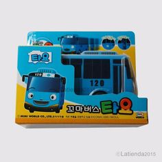 #Tayo #TheLittleBus #BlueBus #Korea #TV #Animation #Character #Plastic #Toy 4.3 inch #MimiWorld