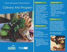 Culinary Arts Program Vancouver School, North Vancouver, School Programs, Art Programs, Outdoor School, Culinary Arts, School District, Schools, Food