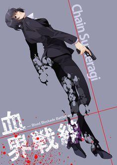 Blood Blockade Battlefront (血界戦線) - Chain Sumeragi (チェイン • 皇)