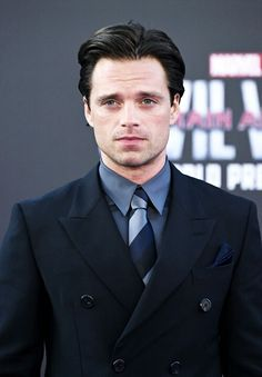 Sebastian Stan at the #CaptainAmericaPremiere April 12,2016