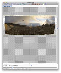 How to create a huge pano