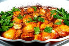 Really want great helpful hints about turkey frying? Head to our great website! Asian Chicken Thighs, Lithuanian Recipes, Plum Recipes, Plum Sauce, Meal Prep For The Week, Easy Food To Make, Air Fryer Recipes, Poultry, Magnolia