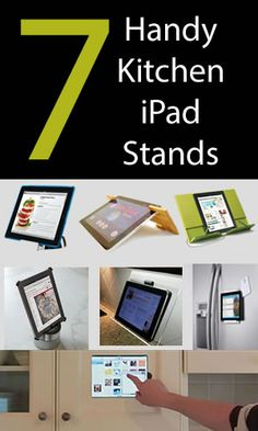 7 Handy Kitchen iPad Stands