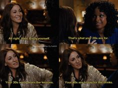 The decades by Carrie Bradshaw