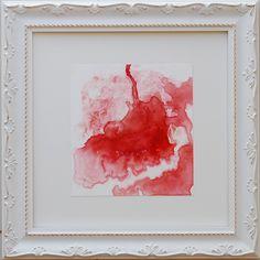 O chá  aquarela 3/12 30x30 cm