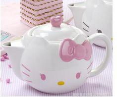 Hello Kitty tea pot.