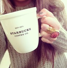 Girl's best friend= Starbucks! Xx