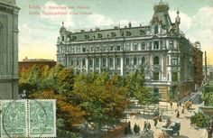 Kamienica Landego i Pinkusa, Łódź - 1912 rok, stare zdjęcia