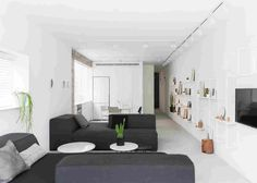 Минимализм квартиры в Тель-Авиве