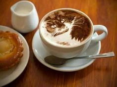 I can't stand 'coffee art' but this is really beautiful