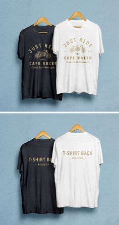Our most downloaded resource just got a sequel! I'm happy to introduce the second photorealistic t-shirt mock-up which you can use freely to showcas...