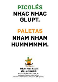 Exercício Don Paletas Figura de Linguagem: Onomatopéia.