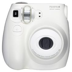 Fujifilm Instax MINI 7s White Instant Film Camera ($64) ❤ liked on Polyvore featuring fillers, camera, other, stuff and tech