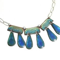 Persian Teal Necklace