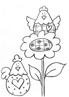 embroidery or applique Hand Embroidery Patterns, Applique Patterns, Craft Patterns, Quilt Patterns, Embroidery Designs, Wool Applique, Embroidery Applique, Embroidery Stitches, Flower Applique