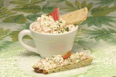Receita de Paté de delícias do mar. Descubra como cozinhar Paté de delícias do mar de maneira prática e deliciosa com a Teleculinária!