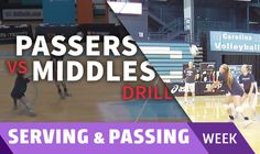 Short-mine-deep passing drill to improve vision and anticipation